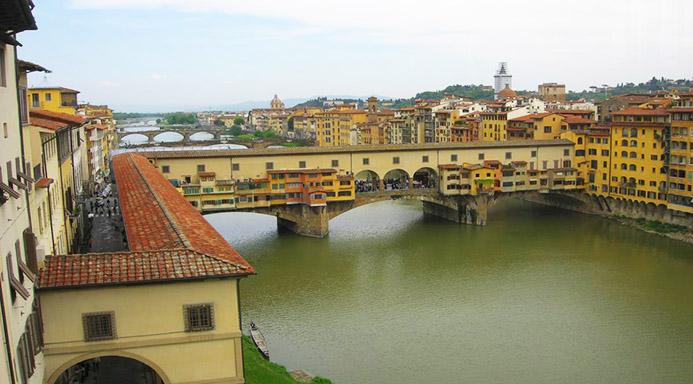Коридор Вазари во Флоренции экскурсия евро