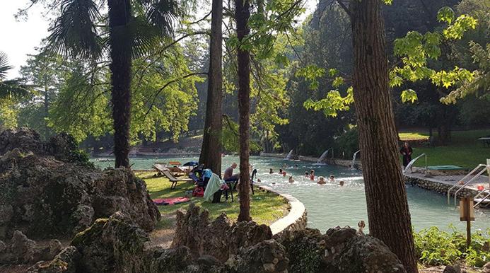 термальные парки на озере Гарда в Италии