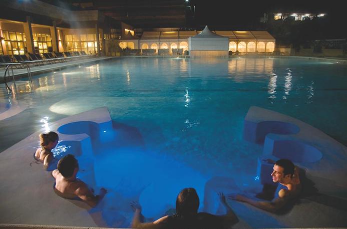 оздоровительные курорты в Италии Монсуммано Терме. Грот Джусти