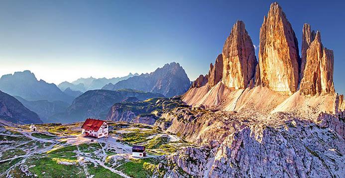 тур на авто в Доломитовых альпах Италии