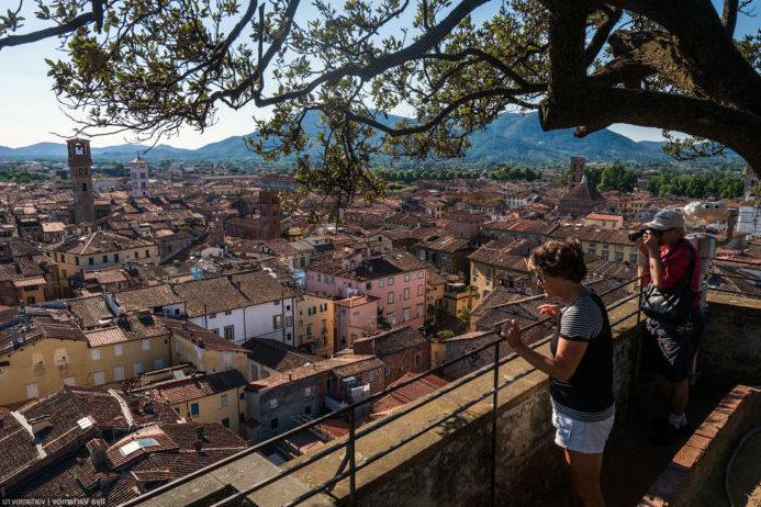 интересные достопримечательности в Италии в Лукке