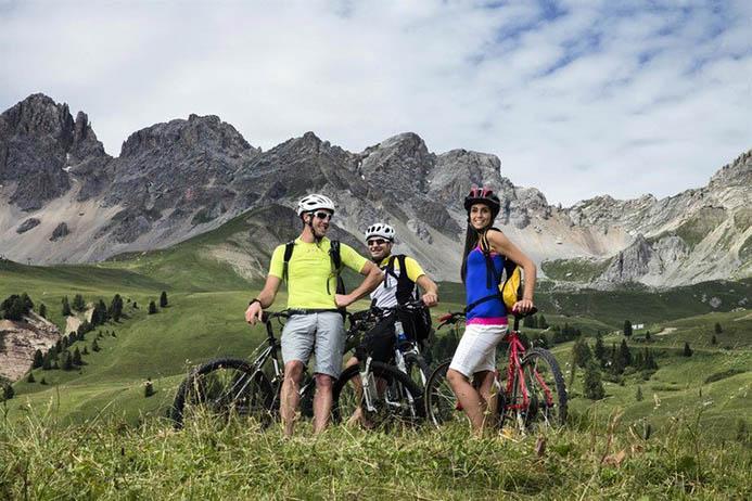 аренда велосипедов в горах Италии