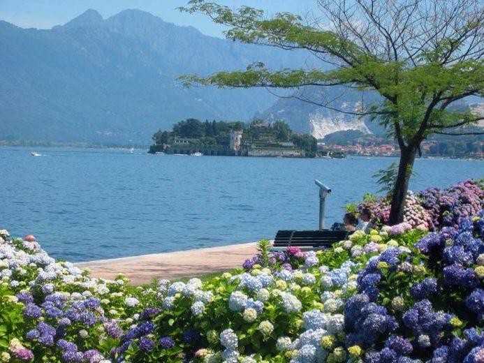 красивые озера Италии Маджоре