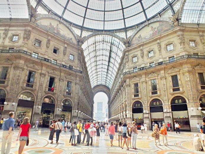 самостоятельный тур в Милан