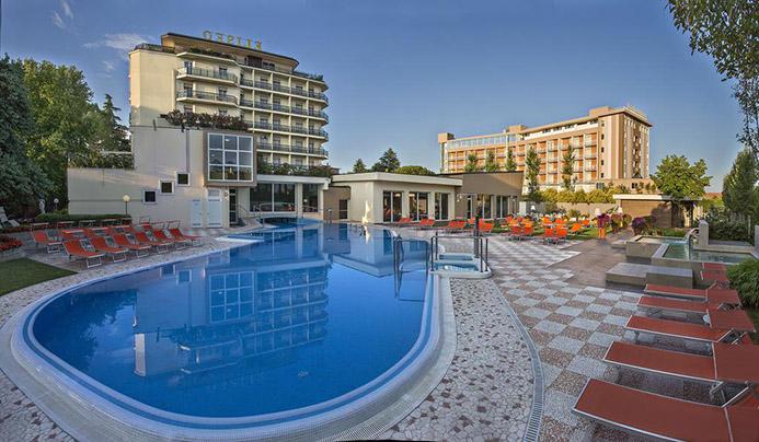 Hotel Eliseo термальные источники в Италии Монтегротто Терме