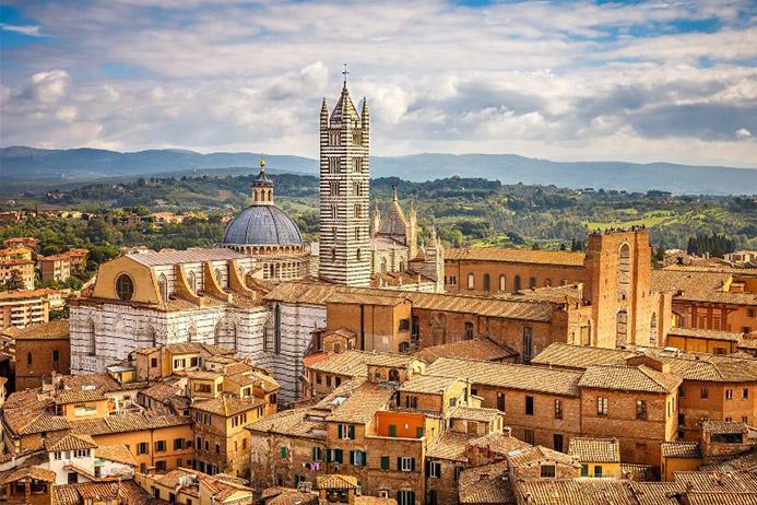 интересные достопримечательности в Италии в Сиене