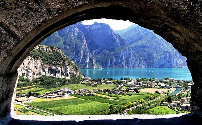 термы в Италии Рива дель Гарда