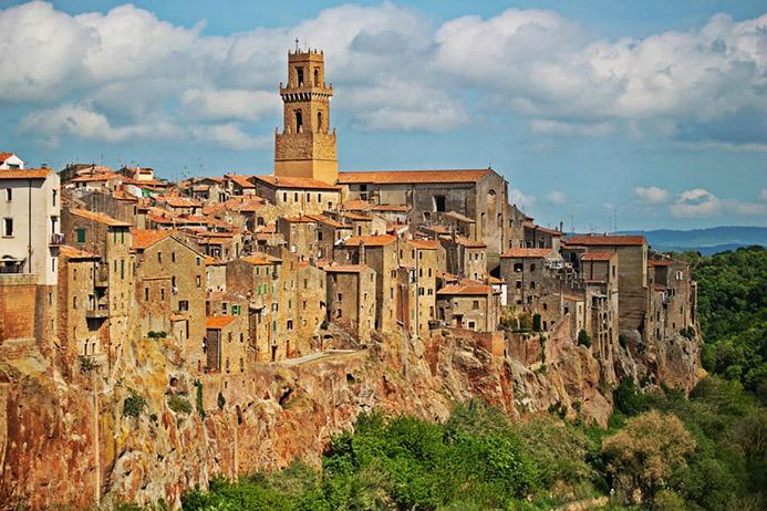 путешествие с детьми в Италии в Тоскане