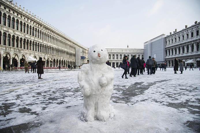 погода зимой в Венеции