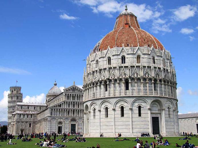 что посмотреть в Италии в Пизе