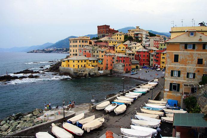 самостоятельный тур в Генуя