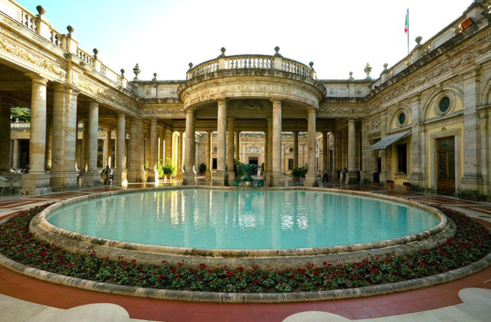оздоровительный туризм в Италии Монтекатини Терме