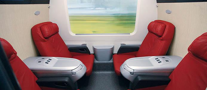 стоимость поездки поездом в Италии