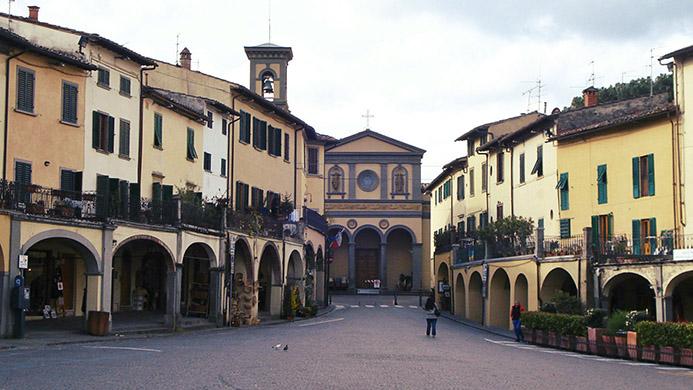 интересные достопримечательности в Италии Тоскана