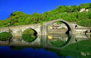 Мост Дьявола в Гарфаньяне.