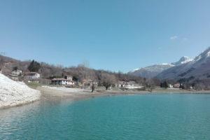 Озеро Грамолаццо в Гарфаньяне.