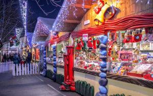 Рождественская ярмарка в Милане.